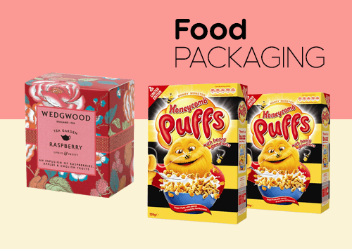 Food Packaging Boxes: A Vareity of Designs & Colors